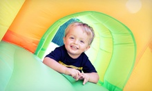 $16 for Four 90-Minute Walk-In Play Sessions at BooKoo Bounce ($32 Value)