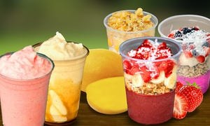 Healthy Cuisine and Smoothies at Rockberry Acai Bowls & Smoothies (Up to 50% Off). Two Options Available.