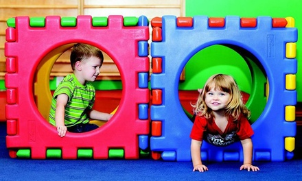 One Month of Classes and Play Sessions for One or Two Children at My Gym (Up to56%  Off)