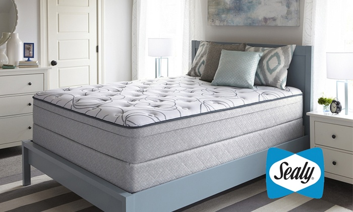 Sealy Highfield Plush Eurotop Mattress Sets
