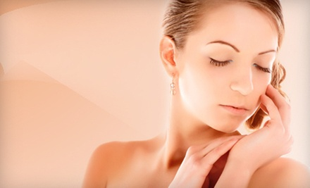 Elite or Caviar Facial, Chemical-Exfoliation Facial Peel, or Both at about face (Up to 53% Off)