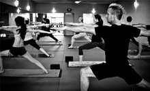 One Month of Unlimited Classes or 10 Classes at Fusion Hot Yoga (Up to 78% Off)