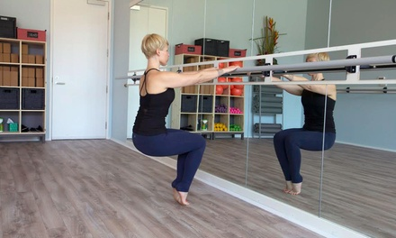 Month of Unlimited Barre and Yoga Classes or 10 Classes at The Yoga Barre (Up to 68% Off)