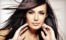 Haircut and Blowout with Optional Scalp Treatment or Partial Highlights at Cristiano Cora Studio (Up to 54% Off)