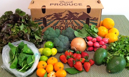 Local Fresh Produce Boxes from Eli's Farms (Up to 48%Off). Three Options Available.
