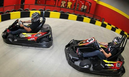 Go-Karting Packages for One or Two at Pole Position Raceway (Up to 47% Off). Three Options Available.