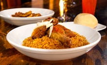 Two-Course African Dinner for Two or Four with Drinks at Iyanze (Up to 48% Off)