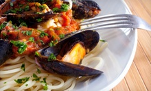 Italian Dinner with Wine for Two or Four at La Scala Ristorante (Up to 54% Off)