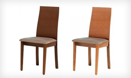 Duas cadeiras modelo Carmen disponíveis em duas cores por 59,99€