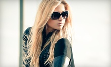 Haircut and Style with Conditioning Treatment and Wax or Partial Highlights at ND Hair Designs (Up to 51% Off)