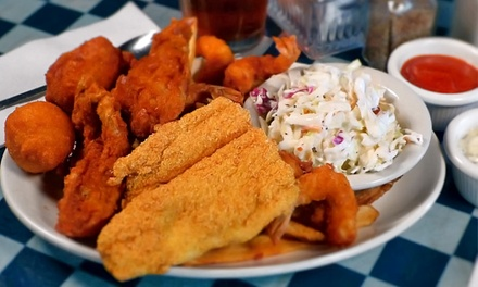 $10 for $20 or $25 for $40 Worth of Seafood at Shrimp Galley