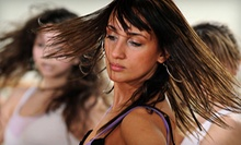 10 Zumba, Zumba Toning, or Hour Party Fitness Classes or One Month of Unlimited Classes at Hip 2B Fit (Up to 58% Off)