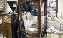 Antiques and Vintage Collectibles at Not Just Antiques Mart (Half Off). Three Options Available.