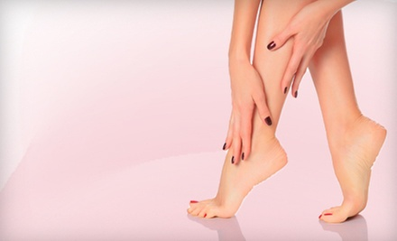 Basic Manicure, Basic Pedicure, or Deluxe Manicure and Pedicure at Natural Nail Care Clinic (Up to 52% Off)