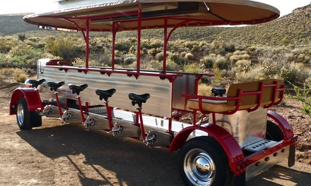 Half- or Full- Rental (Up to 7 or 14 Guests) of the Big Rig Peddler (54% Off)