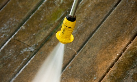 $499 for Pressure Washing for a One-Story House from Aqua Green Solutions ($1,250 Value)