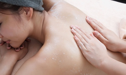 One or Two Two-Hour Turkish Body Scrub and Deep-Tissue Massage Packages at Brain, Beauty & Beyond (Up to 62% Off)