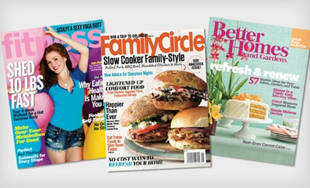 One- or Two-Year Mother's Day Magazine Subscriptions (Half Off). 10 Titles Available. Free Shipping.