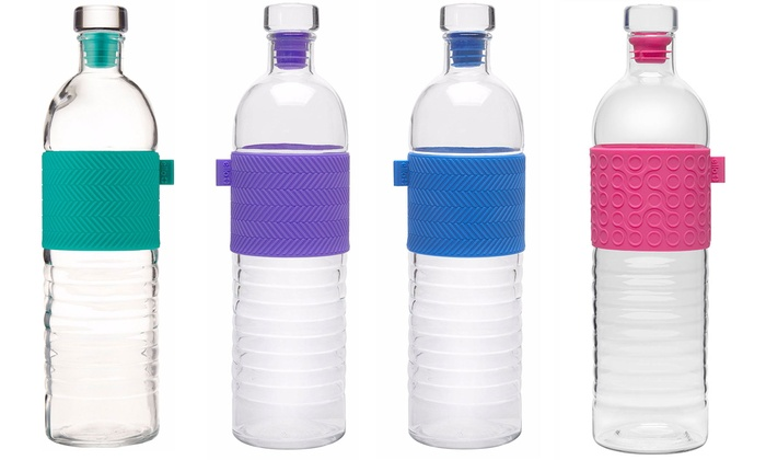 Target glass water bottle