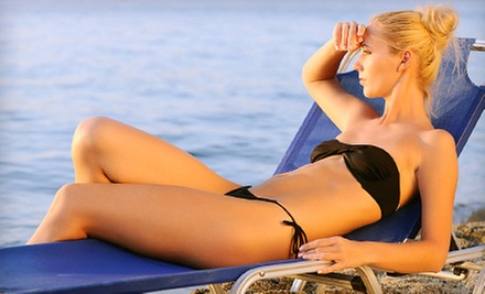 One or Two Months of Unlimited Tanning in Level 1 or 2 Beds with Optional Bronzer at Kissed by the Sun (Up to 67% Off)