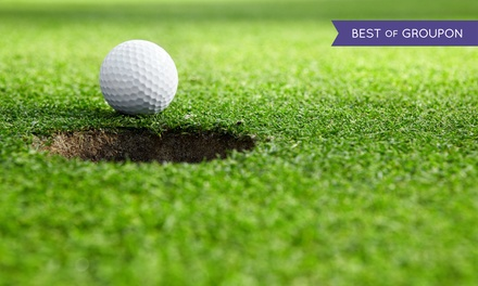 18-Hole Round of Golf & Cart for 2 or 4 with $50 or $100 Worth of Food & Drink  at Lakeside Golf Club (50% Off)