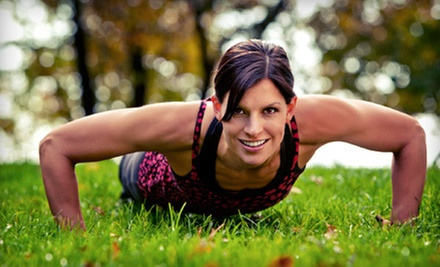 5 or 10 Boot-Camp Classes from Hunter Fitness Training (Up to 61% Off) 