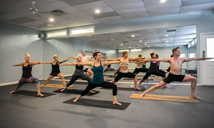 5 or 10 Hot Yoga Classes or One Month of Unlimited Classes at Hot Yoga Asheville (Up to 74% Off)