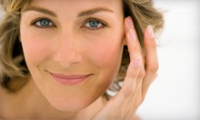 One or Three Anti-Aging Facials and AHA Peels at Solaris Spa, Laser & Wellness (Up to 54% Off)