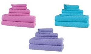 Clearance Bath Towel Set (6-Piece)