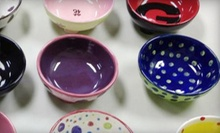 Pottery Painting at Splatters Pottery (Up to 56% Off). Two Options Available.