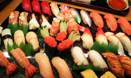 All-You-Can-Eat Sushi and Drinks for Two or Four at Mika Japanese Cuisine & Bar (37%Off)