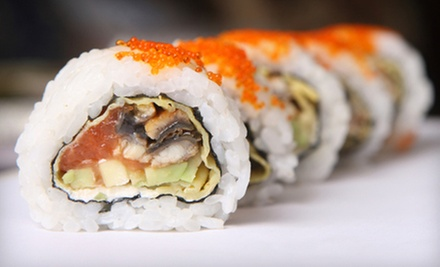 $20 Off Your Bill at Lucky Sushi House. Two Options Available.