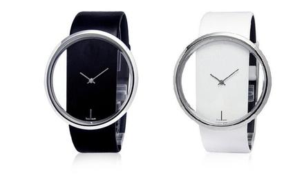 Relógio de mulher com mostrador transparente modelo Ziana por 16,99€