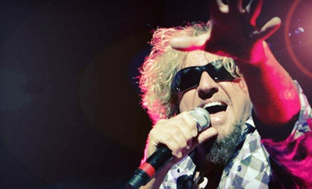 $22 for Presale Ticket to Sammy Hagar at Molson Canadian Amphitheatre on August 27 at 8 p.m. (Up to $43.50 Value)