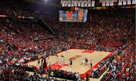 $20 for One Ticket to a Maryland Men's Basketball Game at the XFINITY Center on February 4 ($44 Value)