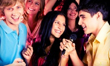 One Hour of Karaoke in a Private Room with Drinks for Up to 6, 15, or 40 at Ai Tunes Karaoke Lounge (Up to 55% Off)