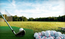 5 or 10 Buckets of Driving-Range Balls at Takaya Golf Centre (Up to 57% Off)