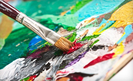 Two-Hour Intro Acrylics Painting Class for One or Two at Ann Bridges Art Studio (Up to 59% Off)
