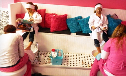 $59 for a BFF Spa Package for Two Kids Aged 3–13 at Spa-Kidz ($198 Value)
