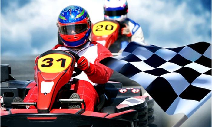 Laps Kart Center - Grimma: 2x oder 4x Kartfahren inkl. Helm, Benzin und Einweisung im Laps Kart Center ab 11 € (bis zu 52% sparen*)