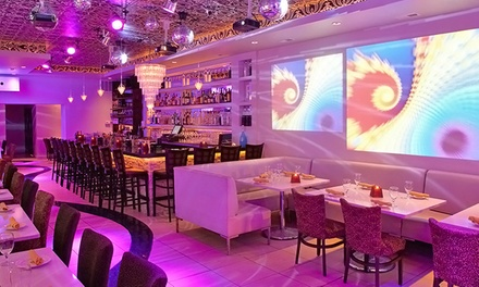 Dinner and Drinks for Two, Four, or Ten at Kit Kat Lounge & Supper Club (Up to 56% Off). Three Options Available.