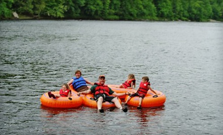 Two- or Four-Hour Guided Tubing Trip for Two or Four People from Adirondack Tubing Adventures (Up to 56% Off)