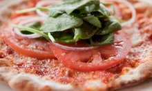 Pizza and Italian Cuisine at Primavera's Pizza Bistro (Half Off). Two Options Available.