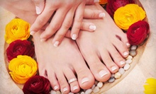 Manicure or Pedicure, or Mani-Pedi at Day Spa &amp; Salon at Sundance Plaza Hotel (Up to 55% Off)