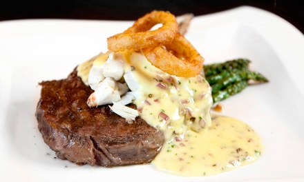 $20 for $35 Worth of Upscale American Cuisine and Drinks for Two at Sedona Restaurant & Lounge