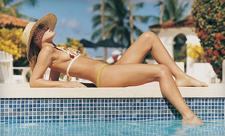 One, Three, or Five Express Spray Tans at Natural Color Spray Tans (Up to 62% Off)