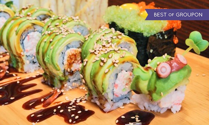 39 ohana sushi and hawaiian food 39 ohana groupon for Aloha asian cuisine sushi