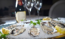 One Dozen Blue Point Oysters and Two Glasses of Wine at Sage Restaurant & Oyster Bar ($44 Value)