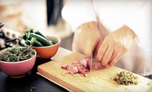 Cooking Class for One, Two, or Four from Chef Laurent (Up to 51% Off)