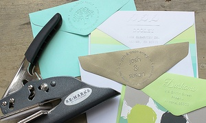 One Or Two Personalized Embossers From Rubberstamps.com (up To 53% Off)
